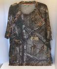 Realtree Men's 2XL (50-52)  Camouflage T-Shirt Camo Short Sleeve