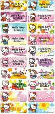 Personalized Waterproof Name label sticker, Hello Kitty Qty20 Large