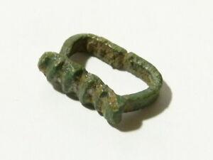 Bronze Elizabethan Leather Belt Fitting  Metal Detected - Ex Martins Lot #CM11