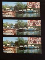 PATCHOGUE, Long Island, NY Vintage Postcard - Pine Grove Inn on Swan River