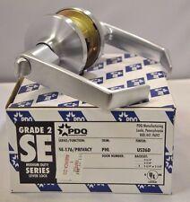 "PDQ Commercial Lockset SE-176 PHL PRIVACY 2 3/4"" BACKSET ASA STRIKE SCHLAGE 26D"