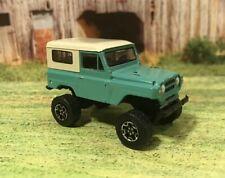 1969 Nissan Patrol 4x4 Lifted Custom 1/64 Diecast Truck Farm Off Road Mud 4WD