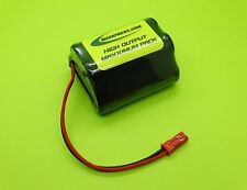 800mA Eneloop Aaa 6V Rx Hump Battery For Rc Boats / Jst Bec / Made In Usa