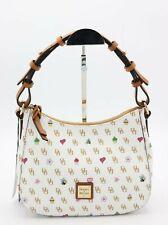 NWT Dooney & Bourke White Gretta Novelty Small Kiley Hobo Shoulder Bag New