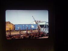 Original Slide train Yard car cargo freight Apache Depot APA box scrap yard