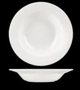 12 X Churchill Alchemy White Round Bowls 222mm