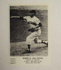 1963 Bob Feller Indians 5x7 Hall of Fame Photo MINT --