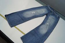REPLAY Herren Men Jeans Hose 30/32 W30 L32 stone wash blau used look Risse 1k