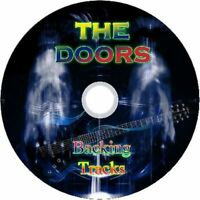 THE DOORS GUITAR BACKING TRACKS CD BEST GREATEST HITS MUSIC PLAY ALONG MP3 ROCK