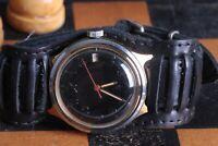 Vostok Komandirskie Old Soviet Mens Military Wristwatch Vintage USSR Serviced