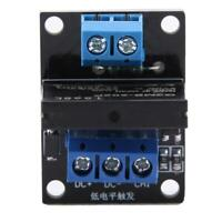 DC 5V/12V 2A 1 Channel  with Fuse Low Level Trigger Solid State Relay Module