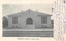 Carnegie Library, Visalia, California 1906 Vintage Postcard
