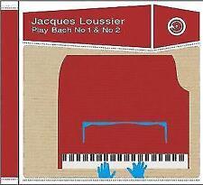 Play Bach - No.1 & 2 - Jacques Loussier  CD NEU OVP
