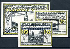 Neubukow 3 Scheine Notgeld ................................................z1239