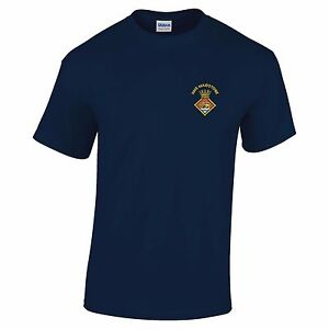 HMS Maidtsone Embroidered T-Shirt