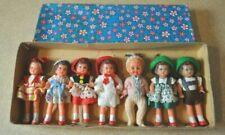 7 Lot ~ Vintage ARI Miniature Dolls (6 Germany) (1 Italy)