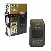 Wahl 5 Star Series Finale Gold Foil Li-Ion Cordless Shaver #08164 110-220 Volts