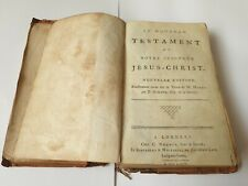1785 French Bible 235 Years Old