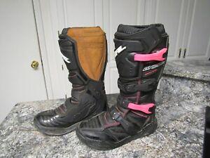 ONEAL MX Women's Racing Rider Motocross Boots Dirt Bike ATV Adult Women's Size 9