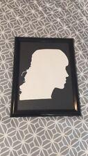 Paper Cutting Silhouette Portrait