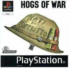 - HOGS OF WAR PAL EU Version Front Box Art Case Insert Cover Only