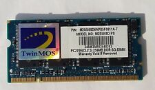 TwinMos 256 MB PC2700 M2S5108D-PS DDR1 SO-DIMM 200PIN Laptop RAM