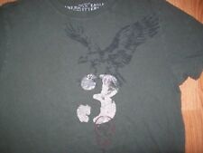 Men's AMERICAN EAGLE T-SHIRT SZ M VINTAGE FIT AE EAGLE 3 LOGO COOL TEE!