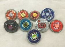 Beyblade Metal Fusion Mixed Lot - 9 Beyblades. See Pictures. Thanks.