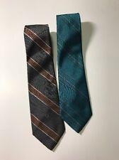 2 Christian Dior Neck Tie Men's Neckties