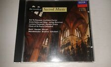 the world of sacred music cd ann sofie von otter james browman  kathleen ferrier