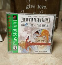NEW Final Fantasy Origins FF 1 and 2 Games Remastered Editions PlayStation 1 PS1