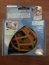 Baskerville Ultra Dog Muzzle, Size #1 for Small Dogs, Tan
