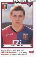 JURAJ KUCKA SLOVAKIA GENOA.CFC RARE UPDATE STICKER CALCIATORI 2011 PANINI
