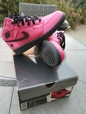 Girls Nike Air Jordan I 1 Phat Valentine's Pink GS 2011 sz 5.5