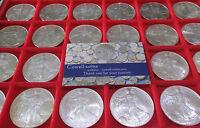USA 1oz .999 Silver Eagles $1 COIN VARIOUS YEARS MINT BUnc 1986 - 2007 Bullion