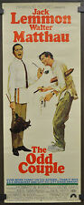 ODD COUPLE 1968 ORIGINAL 14X36 MOVIE POSTER WALTER MATTHAU JACK LEMMON COMEDY