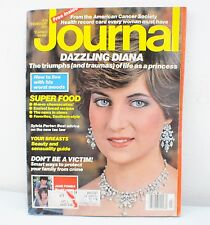 Vintage 1982 Journal Magazine Princess Diana