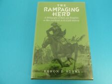 THE RAMPAGING HERD, A BIBLIOGRAPHY IN THE CATTLE INDUSTRY, BY ADAMS, c. 1982