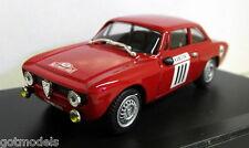 Progettok escala 1/43 PK 2057 Alfa Romeo Giulietta GTA Rally Montecarlo 1967