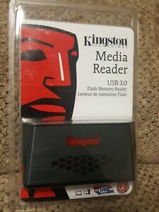 Kingston FCR-HS3 USB 3.0 Media Card Reader CF microSD SDXC SD