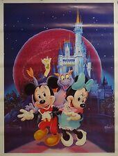 Walt Disney World 18x24 Figment Poster Magic Kingdom Epcot