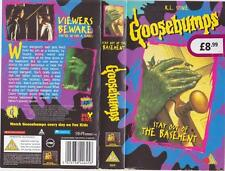 GOOSEBUMPS  STAY OUT OF THE BASEMENT VHS VIDEO PAL~ A RARE FIND
