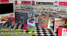 Super-Detail Kit for O Scale Convenience Store (Plasticville Large Market)