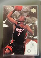 2003-04 Upper Deck Black Diamond Dwyane Wade Rookie Card #148