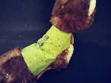 New listing Ferret Harness - Green with Tiny Colorful Dots - M/L
