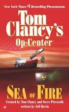Op-Center: Sea of Fire 10 by Jeff Rovin and Steve Pieczenik (2003, Paperback)