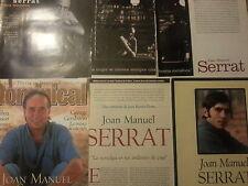 Joan Manuel Serrat colección artículos de prensa españoles