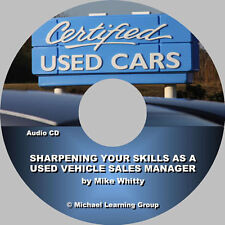 Auto Sales Training - Used Car Sales Manager Training Audio