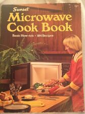 Sunset Microwave cook book Basic How-to's 184 Recipes