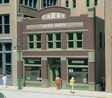 Woodland Scenics DPM - CARR'S PARTS Building - HO Scale NEW 11600